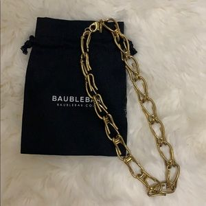 BaubleBar chain necklace